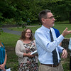 Globe/Roger Nomer<br /> Dan Pekarek, chairman of the 4-State Clean Air Alliance, talks about clean air in the summer during a press conference on Thursday at Leonard Park.