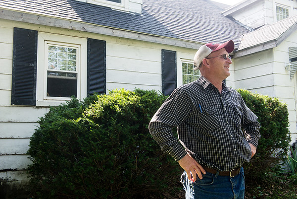 Globe/Roger Nomer<br /> Scott Wilkerson talks about having his brother Mike back home.