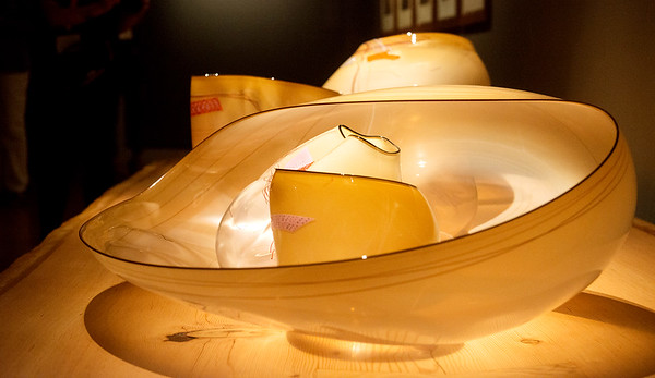 Globe/Roger Nomer<br /> American Indian influence is seen in many of Chihuly's sculptures.