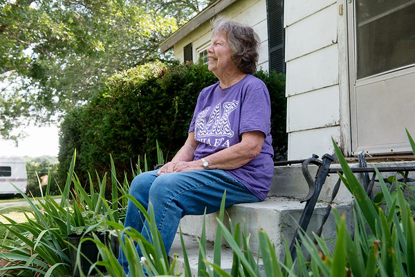 Globe/Roger Nomer<br /> Delores Wilkerson talks about her excitement when she heard her son Mike would be released.