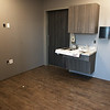 A patient room at the new Joplin VA outpatient clinic nears completion on Monday.<br /> Globe | Roger Nomer