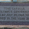 The 1968 time capsule was placed in front of the Cherokee County Courthouse in Columbus.<br /> Globe | Roger Nomer