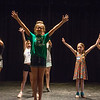 "Anne Marie Wright, junior instructor, leads dancers through choreography during the Children's ""Around the World"" Workshop at Joplin Little Theatre on Monday.<br /> Globe 
