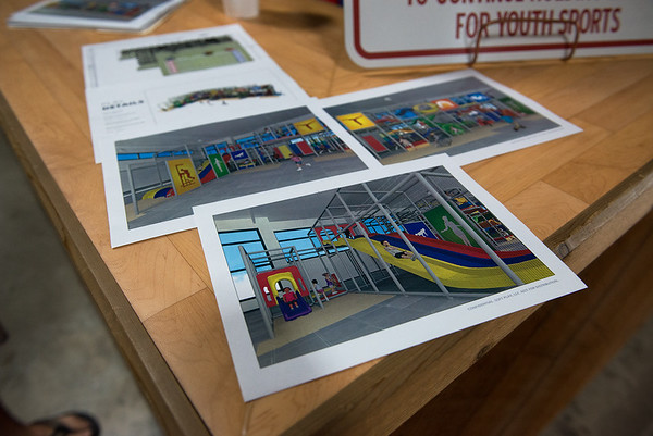 Plans for the Fair Acres Family YMCA new facility include an indoor playground.<br /> Globe | Roger Nomer