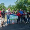 On Friday, the Wildcat Glades Friends Group celebrates a donation from Missouri American Water's American Water Charitable Foundation for $13,294. The Friends Group will used the funds to help build a community educational cottage in Wildcat Park.<br /> Globe | Roger Nomer