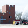 Joplin firefighters undergo training on Thursday at the new City of Joplin Public Training Safety Facility.<br /> Globe | Laurie Sisk