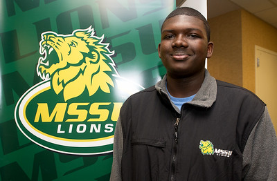 """Lorenzo Harrison, Missouri Southern student who portrays mascot """"Roary"""" has been the first to be accepted into Disney's internship program in cooperation with MSSU. Globe