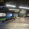 Members work out before class on Tuesday at Midwestern Built, a cross fit gym which previously housed a bus station.<br /> Globe | Laurie Sisk