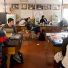 Globe/Roger Nomer<br /> Pittsburg High School students work in a science lab at the school on Wednesday.