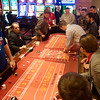 Globe/Roger Nomer<br /> A practice game is run at Kansas Crossing Casino on Thursday afternoon.