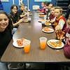 "Globe/Kevin McClintock<br /> A group of talented artists had a cozy little pizza party at the Joplin Boys and Girls Club on Tuesday. They were participants and winners of the annual ""What Does a Home Mean to You"" Fair Housing Poster Contest. Seventeen fifth-graders participated, and all of their posters will be honored during an April Joplin City Council meeting. The top three winning posters — from Yulianna Barajas (first place), Sherlyn Rivas (second place) and Paris Romero (third place) — will be displayed on public billboards throughout Joplin."