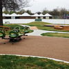 Globe/Roger Nomer<br /> The playground area at the Lion Cub Academy includes a hill for children.