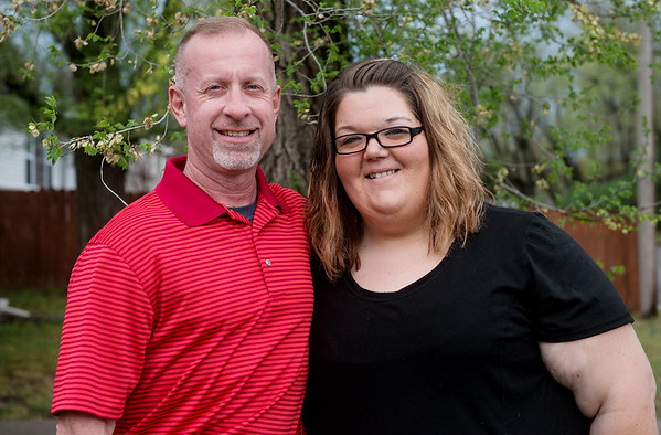 Globe/Roger Nomer<br /> Mark Wear and Meri Toliver stay in touch 20 years after he rescued her from a dog attack near her home in Joplin.