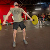 Kyle Doss works out during a cross fit class on Tuesday at Midwestern Built.<br /> Globe | Laurie Sisk