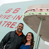 Globe/Roger Nomer<br /> Amy and Nathan McDonald are the new owners of the Route 66 Drive-In Theatre.