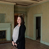Andie Eschbacher talks about her family's purchase of the Sharp Murphy house on Thursday.<br /> Globe | Roger Nomer