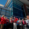 Judge Gayle Crane cuts the ribbon on the new  Jasper County Juvenile Services Center on Friday.<br /> Globe | Roger Nomer