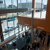 Visitors tour the new  Jasper County Juvenile Services Center on Friday.<br /> Globe | Roger Nomer