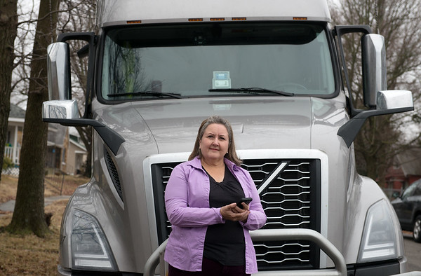 Patricia Nickelson received a scam phone call while on the road in July of last year.<br /> Globe | Roger Nomer
