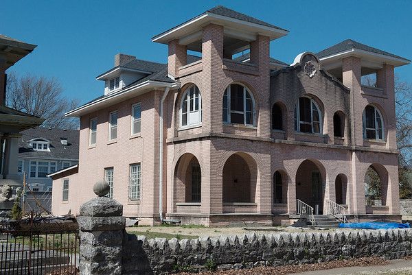 The Sharp Murphy house has been purchased and is in the process of being remodeled.<br /> Globe | Roger Nomer