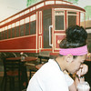 Globe/Roger Nomer<br /> McKayla Hart, 14, has a smoothie at Streetcar Station Coffee House on Thursday afternoon in downtown Galena.