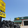 Globe/Roger Nomer<br /> A sign on the Star Lube in Baxter Springs promises the business will rebuild.