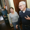 Globe/Roger Nomer<br /> Tiffany and Thang Nguyen talks about their new house from Extreme Makeover in this file photo from Jan. 12, 2012.