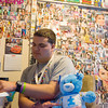Globe/Roger Nomer<br /> Bryce Commons is a big fan of the actress Selena Gomez and has plastered his room with her photos.