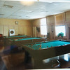 Globe/Roger Nomer<br /> A photo shows the condition of the Billards Room before the restoration.