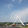 Globe/Roger Nomer<br /> The Branson Ferris Wheel stands out in the Branson skyline.