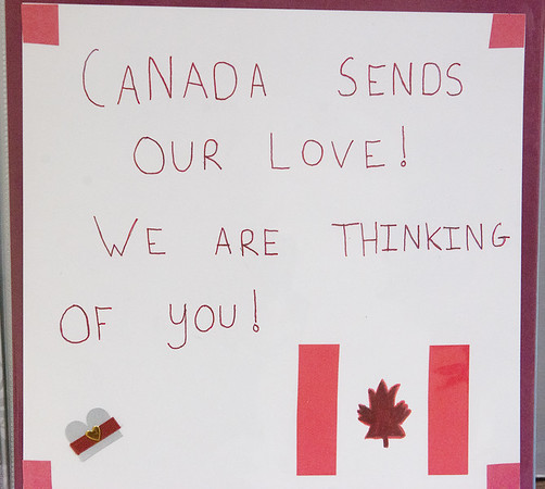 Card from Canada