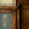Globe/Roger Nomer<br /> The original pattern of the Billards Room at the Scottish Rite Temple has been restored by an artist.