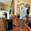 Cut Loose Salon owner Dianna Collins tends to housekeeping of her salon on a Monday - the one day she works alone in the bustling salon.<br /> Globe | Laurie Sisk