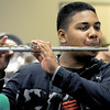 Pete Johannes rehearses with the Joplin High School Band on Tuesday at JHS for an upcoming appearance in the Memorial Day Parade in Washington D.C. on Monday.<br /> Globe | Laurie Sisk