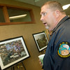 Globe/Roger Nomer<br /> Keith Kohley, assistant emergency management director of Goodman, talks about his time doing search and rescue after the Joplin tornado during Thursday's Joplin Disaster Recovery Summit at Missouri Southern.