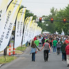 Globe/Roger Nomer<br /> Walkers participate in Friday's Walk of Silence along Joplin Street.