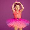 Globe/Roger Nomer<br /> Grace Odneal, 4, practices her ballet with the Pre-K Ballet and Tap group during a rehearsal on Wednesday for the Karen's Dance Studio 45th Anniversary Recital at Missouri Southern.