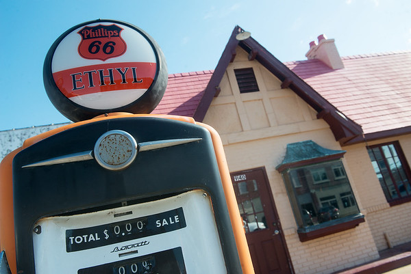 Globe/Roger Nomer<br /> Route 66 Visitors Center in Baxter Springs.