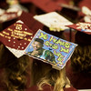 Globe/Roger Nomer<br /> Students sport messages on their mortar boards during Sunday's graduation.