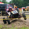 Globe/Roger Nomer<br /> A driver runs through the maneuverability course on Saturaday during the Baja SAE Kansas event at Pittsburg State.