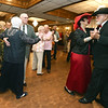 Senior Prom guests crowd the dance floor during the Area Agency on Agency's Senior Prom on Wednesday at The Butcher's Block. About 300 area seniors attended the annual prom, which began about 10 years ago.<br /> Globe | Laurie Sisk