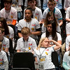 Spellers wait their turn to compete during Monday's 2018 Joplin Globe Spelling Bee at Thomas Jefferson Independent Day School.<br /> Globe   Roger Nomer