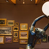 "Harriet Whitney Fishmuth's ""The Bubble"" is on diplay in the salon-style Early American Art Gallery at Crystal Bridges.<br /> Globe 
