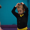 Elijah Steeples, 3, practices for the Karen's Dance Studio recital on Tuesday.<br /> Globe | Roger Nomer