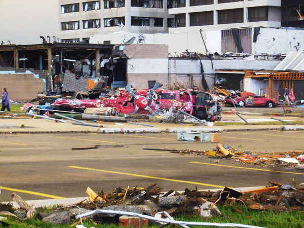 Photo taken by Cindi Leverenz at St. John's Hospital after the May 22, 2011, tornado.<br /> Courtesy Cindi Leverenz