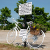 Ghost bike in Galena<br /> Globe | Roger Nomer