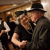 Linda Short and Mike Pittman dance during Thursday's 10th annual Senior Prom at the Butcher's Block Catering and Event Center. The event was organized by the Senior Community Committee, which is comprised of representatives from Freeman Advantage, Avalon Hospice, Northport Health Services, Adelmo Family Care, Silver Creek Assisted Living by Americare and Southwest Missouri Bank.<br /> Globe | Roger Nomer