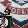 Krusha Bhakta gives her address as senior class president during Sunday's Joplin High School graduation ceremony at the Leggett and Platt Athletic Center.<br /> Globe | Roger Nomer