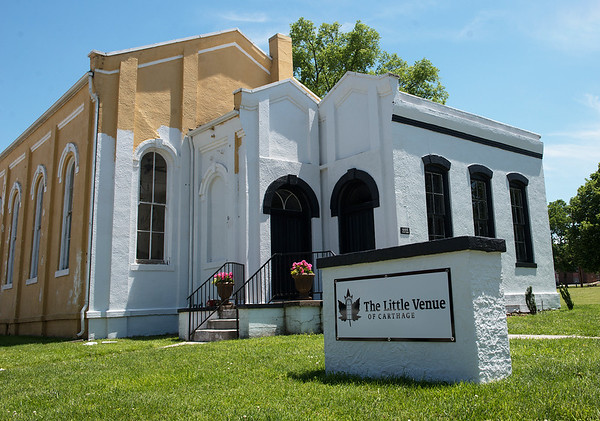 Ronnie Sanders is restoring an restoring an 1872 church in Carthage into the Little Venue of Carthage.<br /> Globe   Roger Nomer