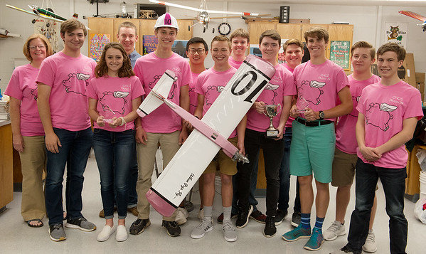The physics team from College Heights Christian School took second place at the OSU Speedfest.<br /> Globe   Roger Nomer